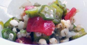 雑穀の夏サラダ