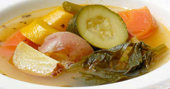 北海道の味 夏野菜のスープカレー