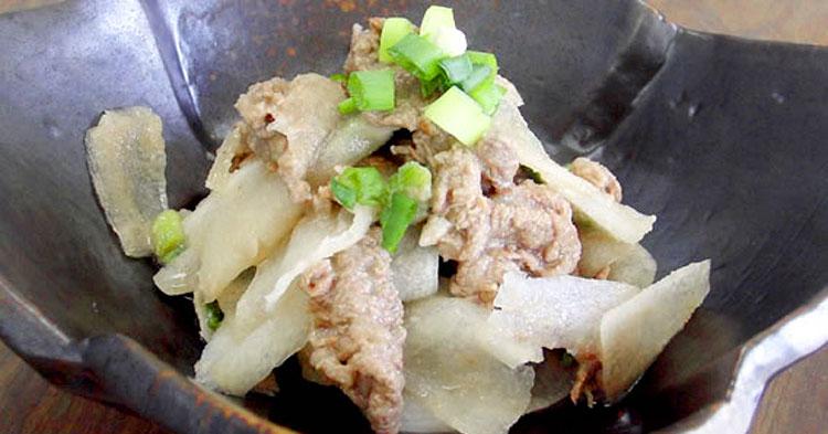 大根の焼肉サラダ