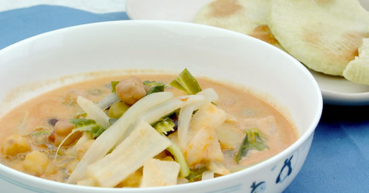 タイ風野菜カレー