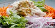 茹で豚のバンバンジーソース