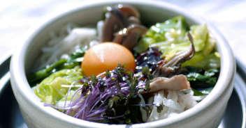 冬野菜たっぷりのビビンバ
