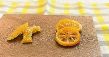レモンピールとセミドライレモン